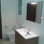 reforma baño lowcost lleida