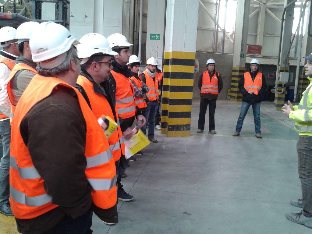 SATE – Aïllament Tèrmic per l'Exterior. Demostració de producte i vista de la planta de Weber a Alcover